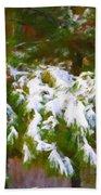 Lowcountry Snow Bath Towel
