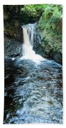 Lower Fall Puck's Glen Bath Towel