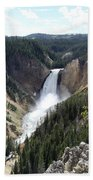 Lower Falls Yellowstone Bath Towel