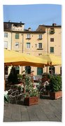 Lucca Piazza Del Mercato  Bath Towel