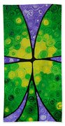 Lucky One Hand Towel by Sharon Cummings