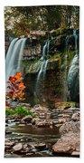 Ludlowville Falls Bath Towel