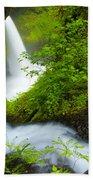 Lush Gorge Falls Bath Towel