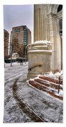 M And T Bank Downtown Buffalo Ny 2014 Bath Towel