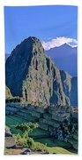 Machu Picchu Peru Bath Towel
