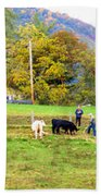 Mac's Farm In Balsam Grove 2 Bath Towel