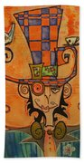 Mad Hatter Bath Towel