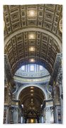 Maderno's Nave Ceiling Bath Towel
