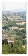Madonna Di San Biagio Tuscany Bath Towel