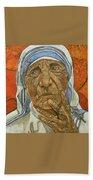 Madre Teresa Di Calcutta Bath Towel