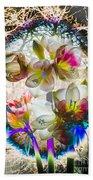 Magic Flowering Bath Towel