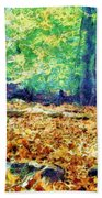 Magic Stone Circle Bath Towel