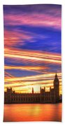 Magical London Bath Towel