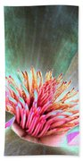 Magnolia Flower - Photopower 1843 Bath Towel
