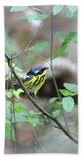 Magnolia Warbler - Bird Bath Towel