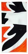 Magpie Original Painting Sold Bath Towel