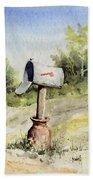 Mailbox Bath Towel