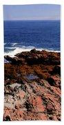 Maine Seascape Bath Towel