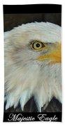 Majestic Eagle Bath Towel