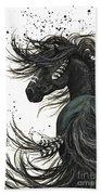 Majestic Spirit Horse  Hand Towel by AmyLyn Bihrle