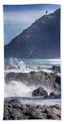 Makapuu Point Lighthouse- Oahu Hawaii V3 Bath Towel