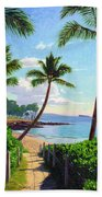 Makena Beach - Maui Bath Towel