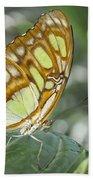Malachite Butterfly Bath Towel