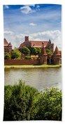 Malbork Castle Bath Towel