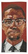 Malcolm X Hand Towel