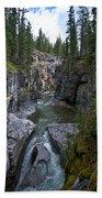 Maligne Canyon #2 Bath Towel