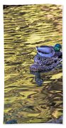 Mallard Pair Bath Towel