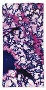 Mammalian Lung Tissue Lm Bath Towel by De Agostini Picture Library