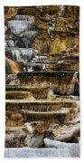 Mammoth Hot Springs - Yellowstone Bath Towel