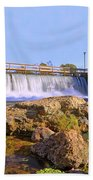 Mammoth Spring Dam And Hydroelectric Plant - Arkansas Bath Towel