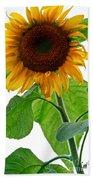 Mammoth Sunflower Bath Towel