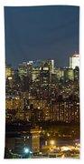 Manhattan Skyline, New York City, New Bath Towel