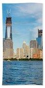 Manhattan Skyline Bath Towel