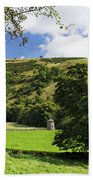 Manifold Valley And Dovecote - Swainsley Bath Towel