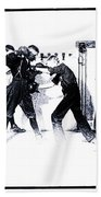 Manly Art Of Boxing Bath Towel