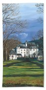 Mansion In The Woods Bath Towel