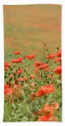 Many Poppies Bath Towel