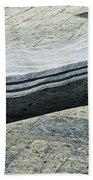 Abstract Marble Bench Bath Towel