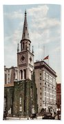 Marble Collegiate Church Holland House New York Bath Towel