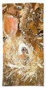 March 025 0 Rabbit Eyes Looking Bath Towel