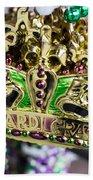 Mardi Gras Beads Hand Towel