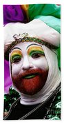 Mardi Gras New Orleans La Bath Towel