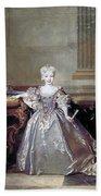Mariana Victoria Of Spain (1718-1781) Bath Towel