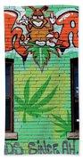 Marijuana 3 Bath Towel