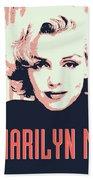 Marilyn M Hand Towel