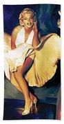 Marilyn Monroe Artwork 3 Bath Towel